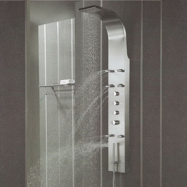 Shower Head Panel - Home Design Ideas and Pictures