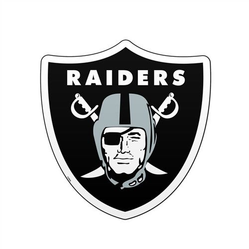 "Oakland Raiders 6"" Team Logo Magnet"