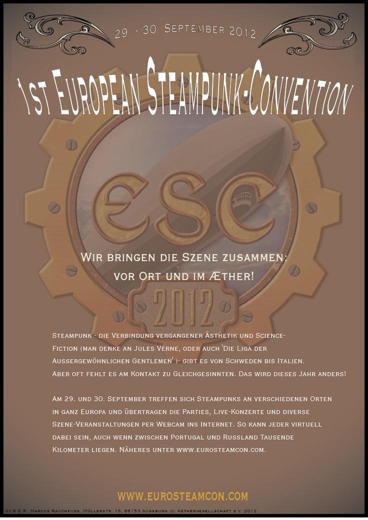 1st european steampunk convention