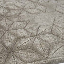 Star Silk Charcoal by Helen Amy Murray for The Rug Company