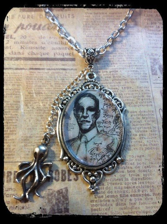 Collana omaggio a Lovecraft di ExaltedShop su Etsy #lovecraft #handmade #cthulhu
