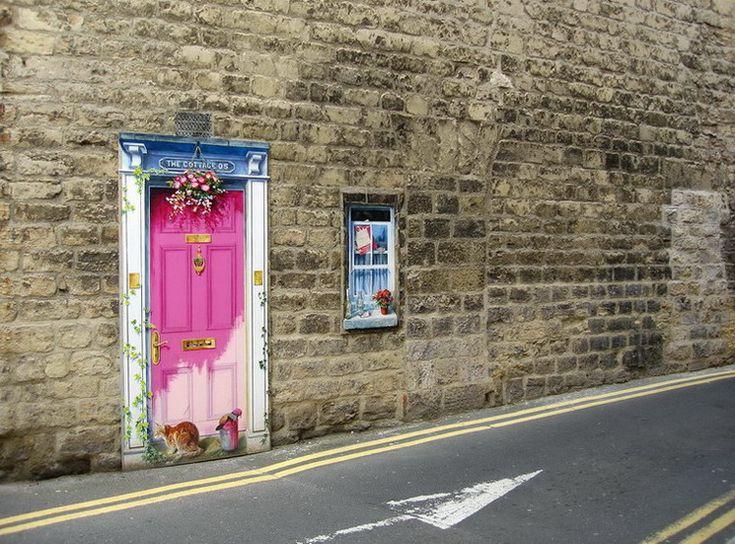 Pink Door - Knaresborough, North Yorkshire