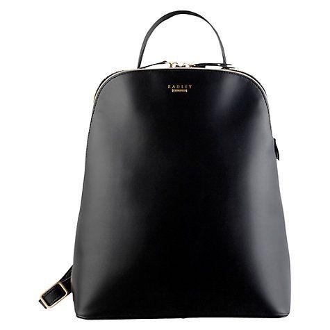 Buy Radley Soho Large Leather Backpack Online at johnlewis.com