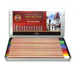 Gioconda Soft Pastel Pencils. #Pastels #Pencils
