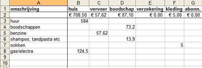 Wil je, net zoals veel Nederlanders, ook graag meer sparen? Om greep te krijgen op je financiën is het belangrijk dat je weet waar je geld naartoe gaat. Pas dan kun je goed zien waar je op kunt bezuinigen zodat je meer kunt sparen. Je kunt hier een excelsheet downloaden om je huishoudboekje bij te houden.