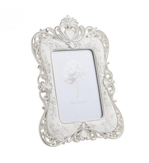 POLYRESIN FRAME IN WHITE COLOR 13X18