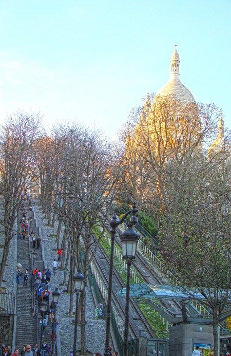 Paryż - Bazylika Sacre Coeur