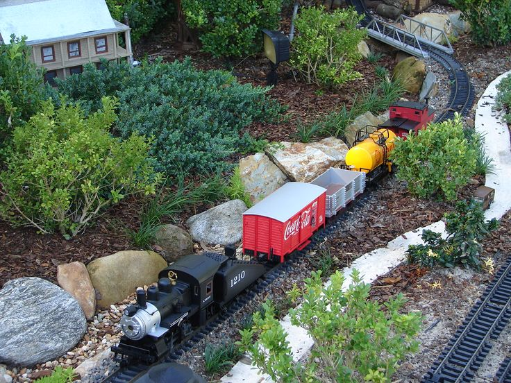 17 Best images about garden railroads on Pinterest Gardens Ho