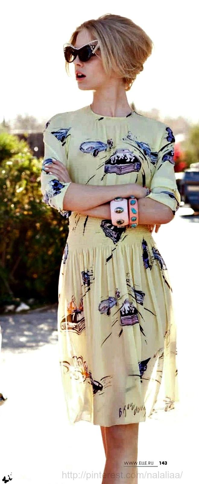 Skye Stracke by Kayt Jones for Elle Russia <3 na
