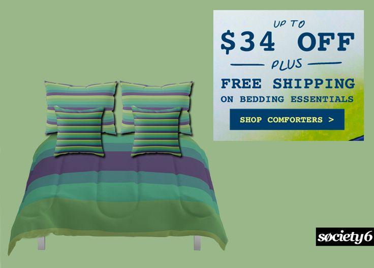 Summer Sales Bedding  + Free Shipping! Ends Tonight. #sales #summersales #bedding #bedroom #pillows #throwpillows 3kidsroom #teenagerroom #summerhouse #homedecor #homegifts #freeshipping #society6 #scardesign #beachhouse #giftsforhim #giftsforher