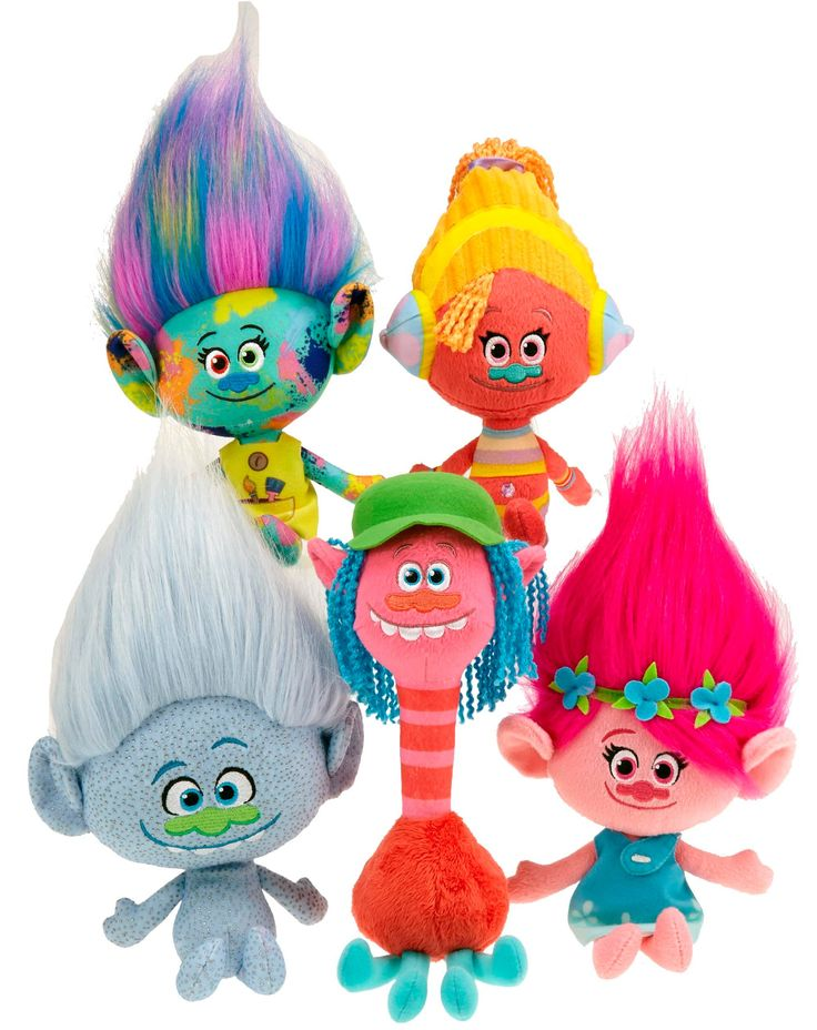 new trolls from dreamworks toys for 2016 first look toy. Black Bedroom Furniture Sets. Home Design Ideas