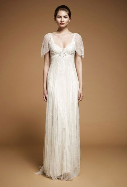 Hochzeitskleid empire kurz