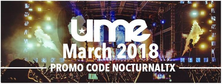 Ume 2018 Discount Promo Code NocturnalTX Ultimate music padres  Ume 2018 Tickets Discount Promo Code South Padre Ultimate Music Experience. Tickets are available now for the Texas Ultimate Music Experience happening March 2018 at Clayton's Outdoors (location unconfirmed) S. Padre Island.  BOOK YOUR UME PASSES HERE: PROMO CODE: NOCTURNALSD https://nocturnalsd.com/event/ume-2018-tickets-discount-promo-code-south-padre-ultimate-music-experience/  Ticket link…