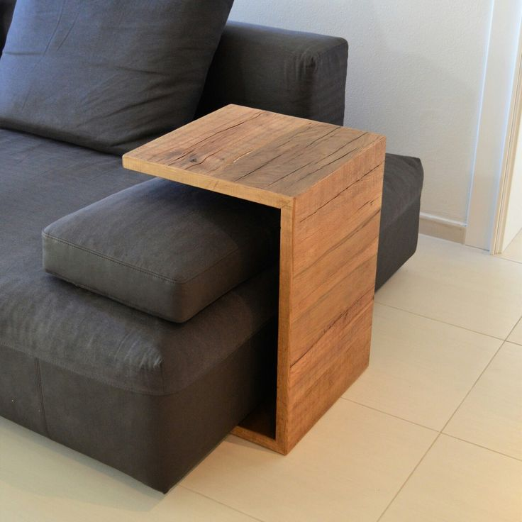 Sofa table in oak by young design pratik ve dekoratif - Mesa plegable sofa ...