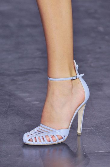 The Top 8 Shoe Trends For Spring 2015   This is so gorgeous!