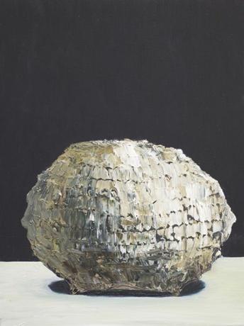 Ivan Seal  'olegedomis' (2011)  Oil on canvas 31 x 41cm