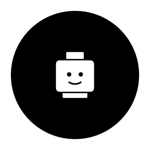 Si las muñecas de Famosa se dirigían al portal, este muñeco de Lego quiere ir a tu MacBook. Siempre sonriente y feliz, estará encantado de formar parte de tu Mac.