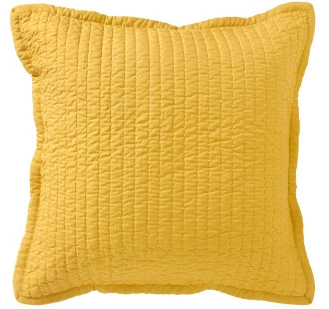 Vivid Coordinates European Pillowcase Gold - Shop