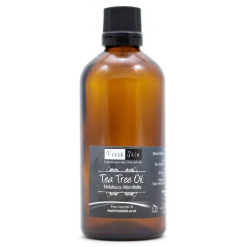 4 drops Tea Tree Essential Oil