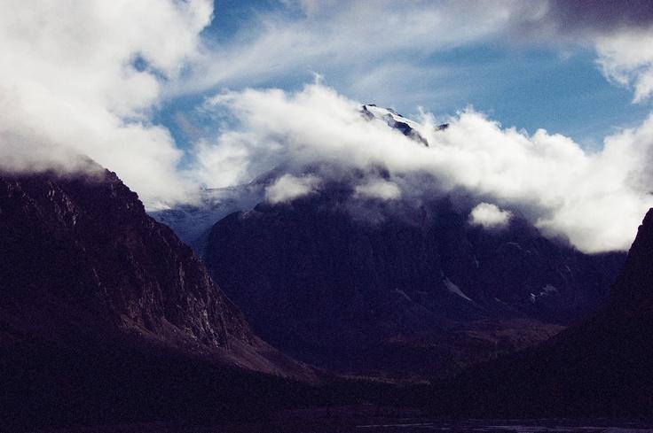 Вид на гору Актру