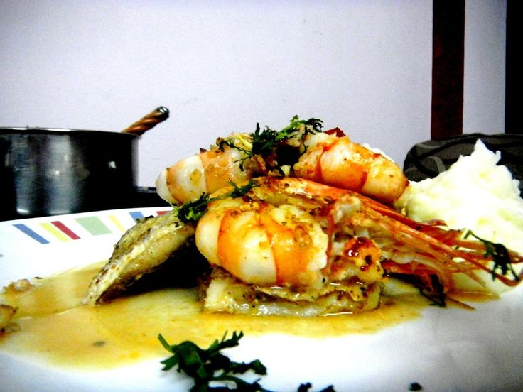 204 best indian foods recipes images on pinterest indian recipes grilled indian salmon plump prawns in a white wine reduction recipe forumfinder Image collections