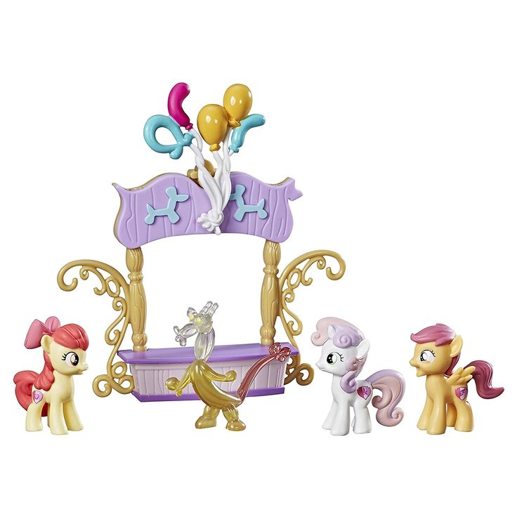 My Little Pony Cutie Mark Crusaders Dolls and Accessories Friendship is Magic Collection