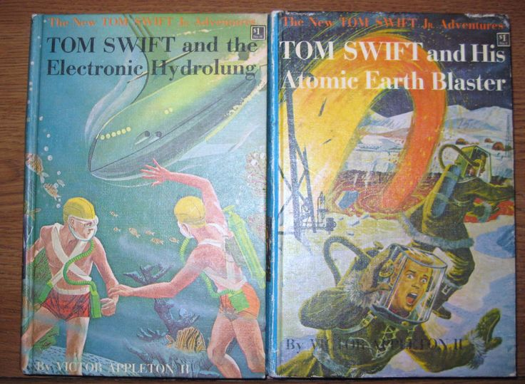 Tom Swift His Atomic Earth Blaster 5 1954 The Electronic Hydrolung