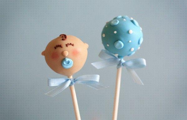 Cake Pop Decorations Baby Shower : Cake pop Baby Shower Cake Pop Bautizo Pop Cakes ...