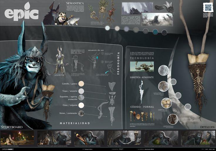 Diseño de objeto para película / Epic / Semántica