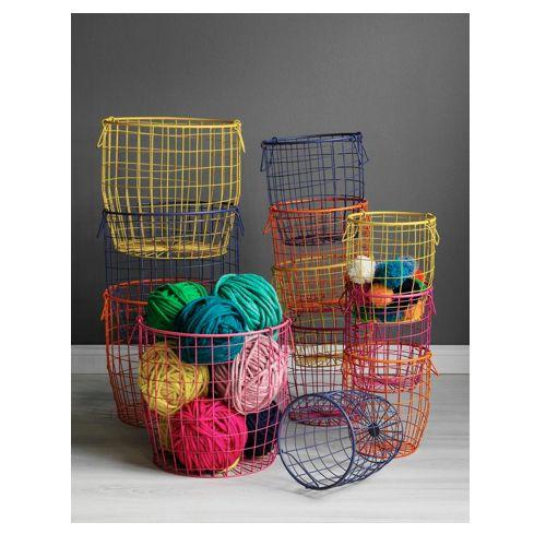 Vavoom Emporium   Wire Basket Large   Black, $49.00 (http://www