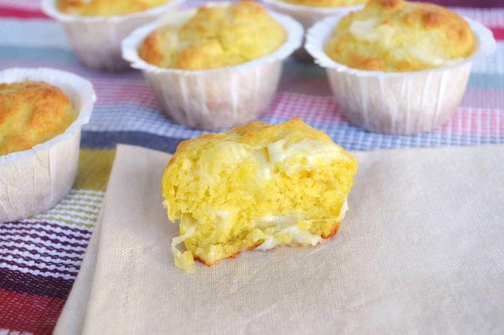 Muffin ai 4 formaggi