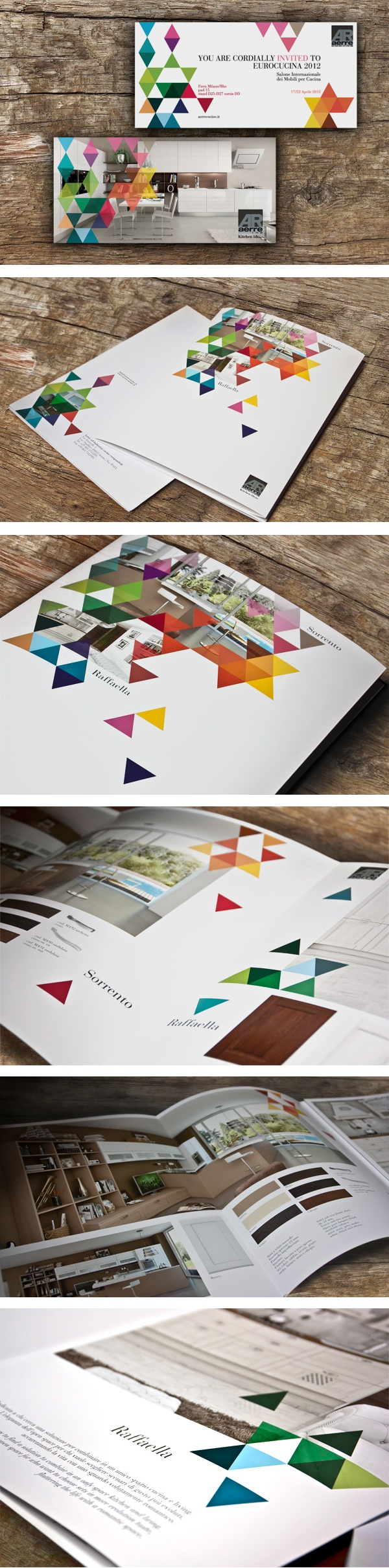Graphisme triangles