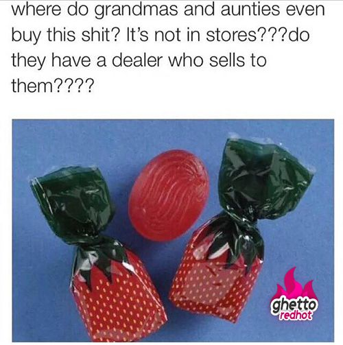 Where do they buy this stuff? • Ghetto Red Hot