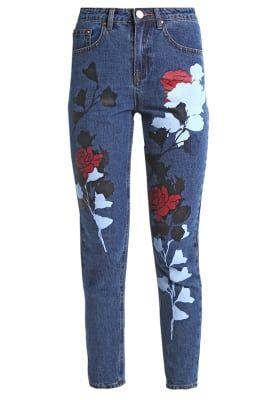 Lost Ink London Slim fit jeans - dark denim