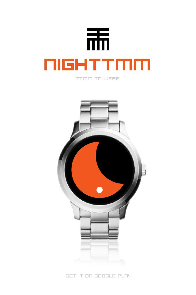 NIGHTTMM to Wear Clever and fun  #AndroidWear #Watchface
