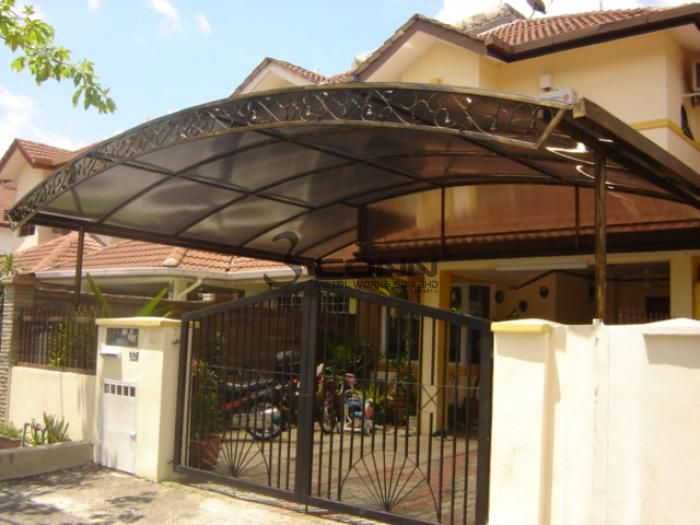 Wrought Iron Awning,Awning Polycarbonate Design,Skylight ...