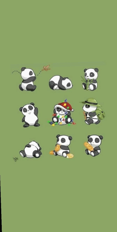 17 Wallpaper Pastel Tumblr Pandas Cute Panda Wallpaper Panda Art Panda Wallpapers