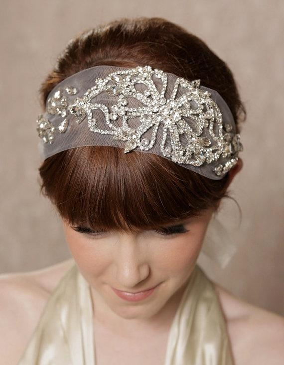 Best 25+ Headband veil ideas on Pinterest | Bridal hair ... - photo #11