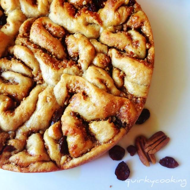 Quirky Cooking: Brioche Cinnamon Scrolls ~ Prepare Ahead