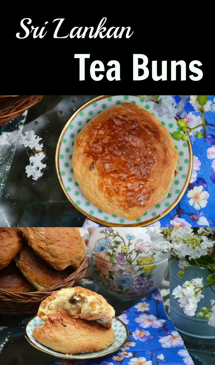 The Sri Lankan tea bun is a nostalgic Sri Lankan specialty usually had in the afternoon with tea. So easy to make! Missing the banis back home? You can make your own!