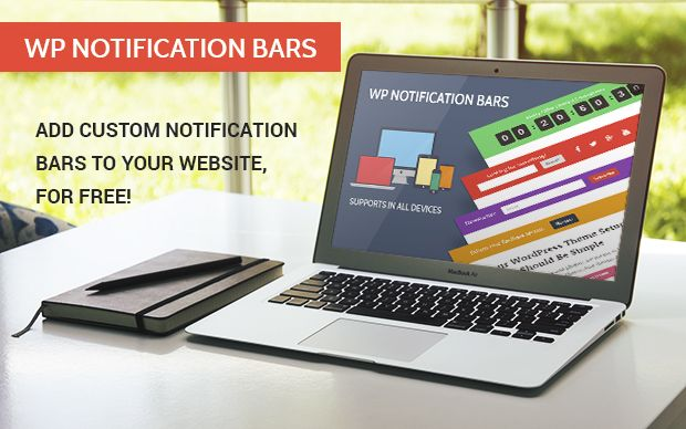 Free Notification Bars For Your WordPress Blog