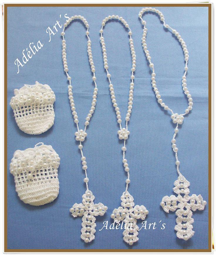 Mini Tercinhos de Crochê | Tercinhos feitos com linha merce … | Flickr