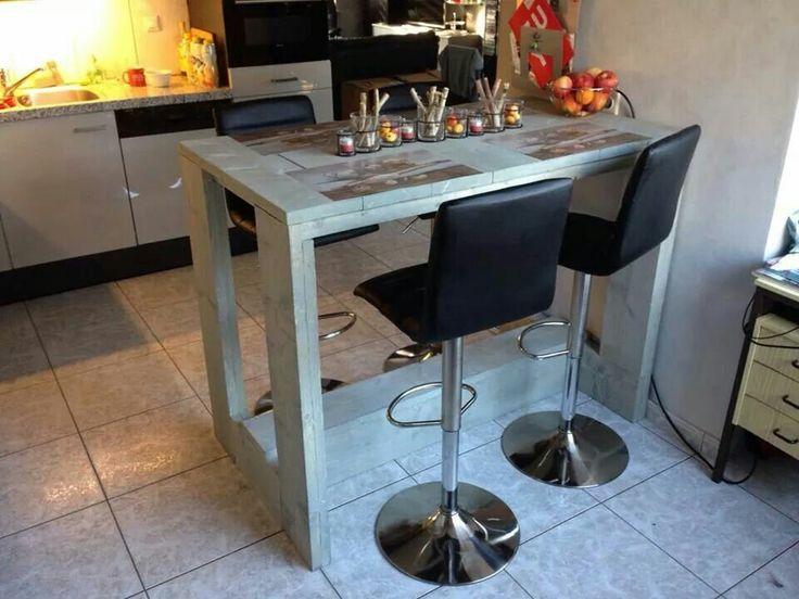 Geweldig mooie bartafel in elke afwerking verkrijgbaar. http://www.steigerhoutwereld.nl/bartafel-hoge-eettafel-steigerhout.html