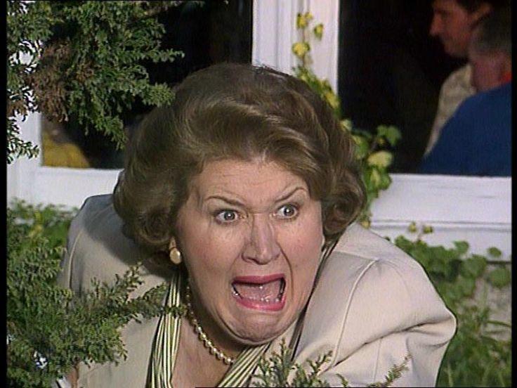 Hyacinth, Mrs Bucket, Keeping Up Appearances, great tv, haha funny, portrait, photo