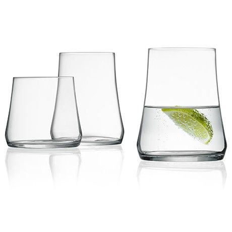 Marc Newson tumblers for #iittala -- I love the shape!