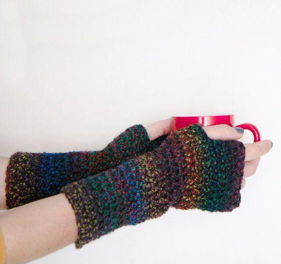 Crochet fingerless gloves, by polixeni19 #fingerless #gloves #crochet