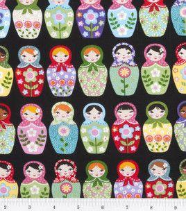 Novelty Cotton Print- Matryoshka Dolls: novelty quilt fabric: quilting fabric & kits: fabric: Shop | Joann.com