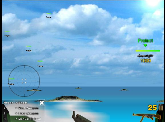 #ONLINE_GAMES @Boni Utas Hobby   Here is an aircraft gunner protection capturing activity.  http://www.gameshobby.com/online-games/Air-Gunner