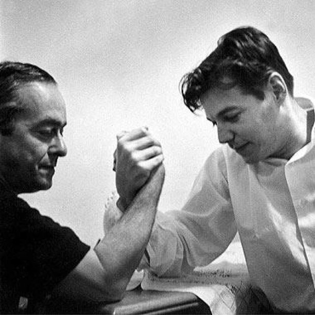 The kings of Bossa Nova, Vinicius de Moraes & Tom Jobim