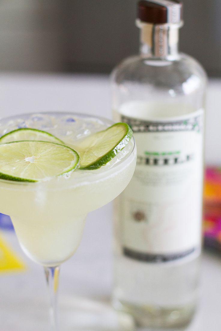 St. George Green Chile Vodka Margarita | 2.5 oz St. George Green Chile Vodka, juice of two limes, 1/2 oz agave, 1/2 oz orange-flavored liqueur